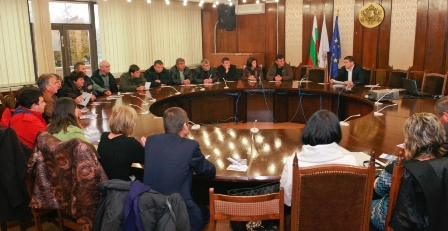 Meeting with mayors